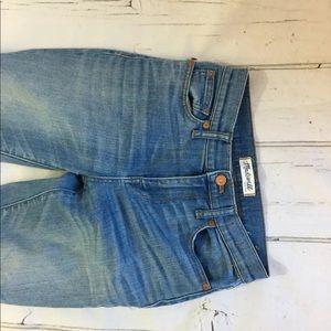 Madewell Women's High Riser Skinny Jeans Size 25